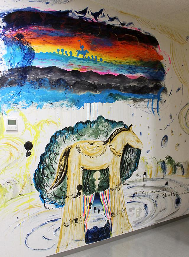 1階わいわいサロン壁画